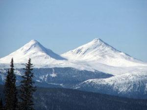 Twin Sisters KA Mountains